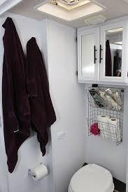 Ideas For Small Bathroom Storage Rv Bathroom Storage Ideas Rv Obsession