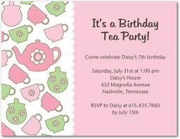 tea party printable invitation teapot google search party
