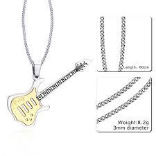 guitar necklace images Trendy guitar necklace atom deal store jpg