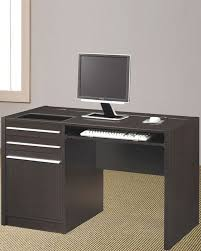 Contemporary Computer Desks Ontario Contemporary Computer Desk With Charging Station Co800702