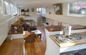 Top  Best  Small Houseboat Interiors  Small Houseboat - Boat interior design ideas