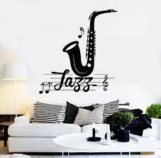vinyl wall decal jazz music musical room decoration stickers mural vinyl wall decal jazz music musical room decoration stickers mural 470ig