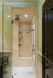 Built In Shower by Master Suite Renovation U2013 On The Level