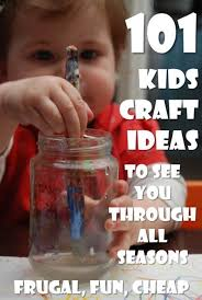 All Kids Crafts - things to make easy kids crafts