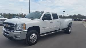 sold 2011 chevrolet silverado 3500 hd crew cab dual rear wheel 4x4