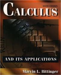 calculus and its applications by marvin l bittinger