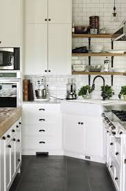 black and white kitchen cabinets designs black hardware kitchen cabinet ideas the inspired room