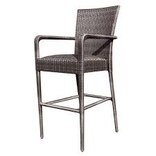 Bar Height Swivel Patio Chairs Outdoor Bar Stools With Backs And Arms Modern Patio