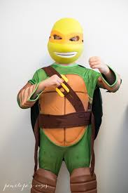 Michelangelo Ninja Turtle Halloween Costume Ninja Turtle Halloween Penelopes Oasis