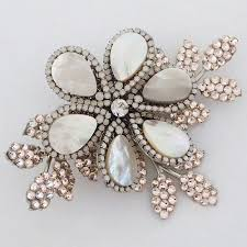 pearl hair accessories haute hair accessories of pearl flower hair clip
