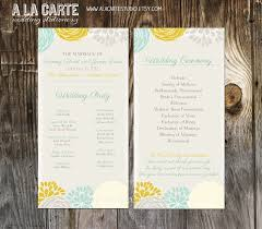 Wedding Program Fans Cheap 49 Best Yellow And Teal Wedding For A Friend Images On Pinterest