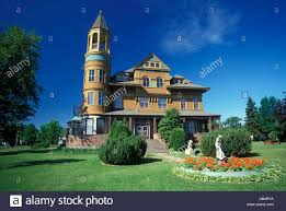 classic victorian home know as the fairlawn mansion museum located