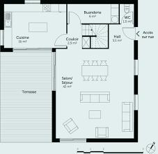 plan maison rdc 3 chambres plan de maison avec sous sol fresh plan maison rdc 3 chambres de