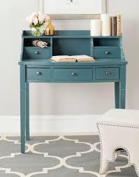 Cherry Secretary Desk With Hutch by Amh6516e Desks Furniture By Safavieh