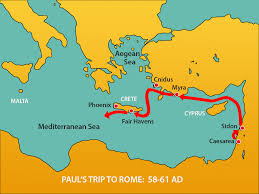 paul survives a shipwreck mission bible class