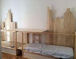 bedroom ikea kura bunk beds medium hardwood pillows desk lamps