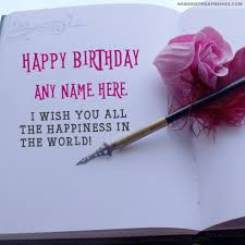 birthday quotes wishes with name