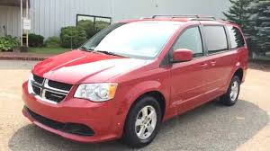 2013 dodge grand caravan sxt wheelchair accessible rear entry very