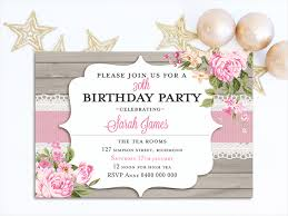 adults birthday invitations bridal shower hens night high