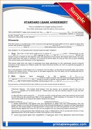 5 rental agreement doc printable receipt
