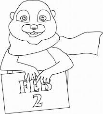 groundhog printable coloring pages coloring