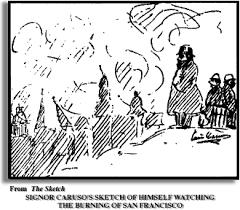 1906 earthquake eyewitness account of enrico caruso