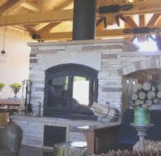 fireplace simple build wood burning fireplace good home design