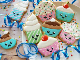 Decorated Gourmet Cookies Galletas Cookies Cupcakes Decoration Royal Icing Glaseado Cut Out