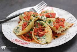 cuisine florentine blue crab marinara with stuffed shells florentine erica s recipes