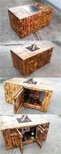 pallets pallets coffee table with inside firepit pallet ideas
