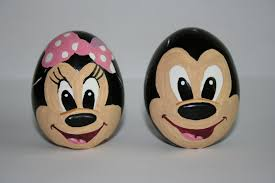 Mickey Mouse Easter Eggs Mickey And Minnie Mouse Easter Eggs Painted By Me Easter