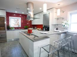 red modern kitchen kitchen cabinet colors and finishes hgtv pictures u0026 ideas hgtv