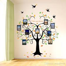 Heart Wall Stickers For Bedrooms Photo Love Heart Shape Tree Flying Birds Wall Decals Living Room