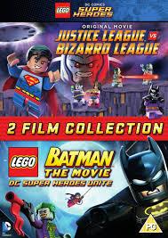 lego movie justice league vs lego justice league vs bizarro league batman dvd hmv store