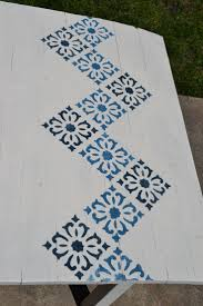 70 best stenciling images on pinterest painted furniture