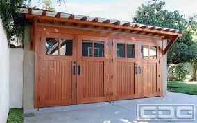 real wood carriage garage door ideas with matching overhead