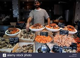 cuisiniste st malo seafood for sale at st malo in stock photo 17693477