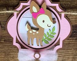 woodland baby shower decorations etsy