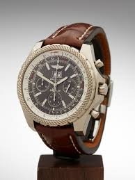 breitling bentley motors breitling bentley j44362 2008 w1623 second hand watches xupes