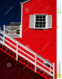bright color paint on house exterior stock photography image