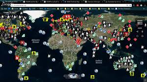World Wide Map Worldwide Map Of Ionospheric Heaters Elf Vlf Lasers And More