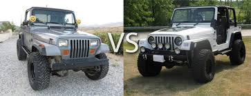 modified jeep wrangler yj yj vs tj which one is better and why