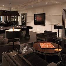 Pool Table In Living Room Basement Pool Table Design Ideas