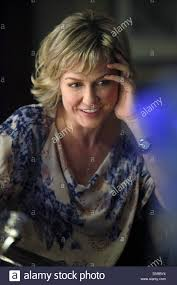 back view of amy carlson hair amy carlson blue bloods 2010 stock photo 55218664 alamy
