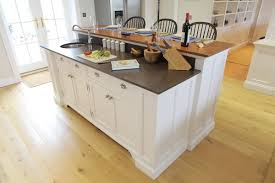 oak kitchen island with granite top modern kitchen island design