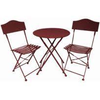 chaise et table de jardin pas cher salon jardin bistrot achat salon jardin bistrot pas cher rue du