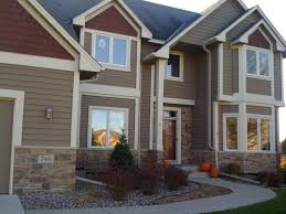 modern concept outdoor house paint color combinations with