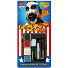 House 1000 Corpses Halloween Costumes House 1000 Corpses Captain Spaulding Makeup Kit Costume