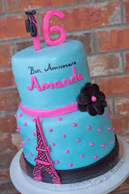 parisian 16th birthday cake for cake sake blog