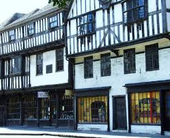 Tudor Houses by Tudor Half Timbered Houses 14 Century In One Of The Main City